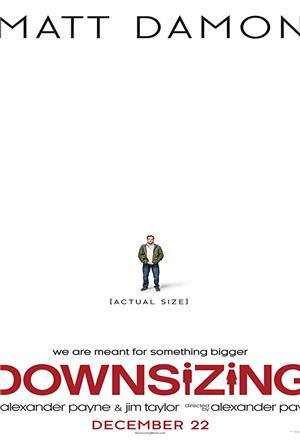Downsizing (2017) 1080p Poster