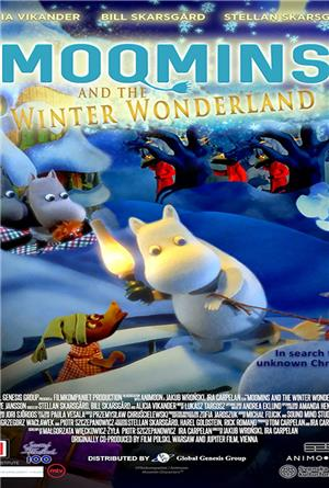 Moomins and the Winter Wonderland (2017) Poster