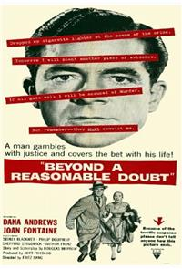Beyond a Reasonable Doubt (1956) Poster