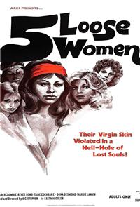 Five Loose Women (1974) Poster