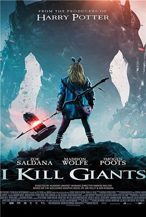 I Kill Giants (2018) 1080p Poster