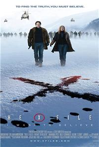 The X Files: I Want to Believe (2008) 1080p Poster