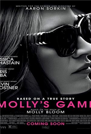 Molly's Game (2017) 1080p Poster