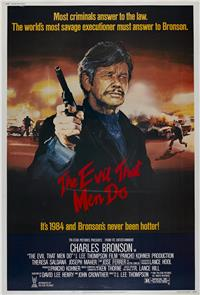 The Evil That Men Do (1984) Poster