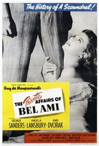 The Private Affairs of Bel Ami (1947) Poster