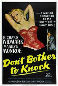 Don't Bother to Knock (1952) Poster
