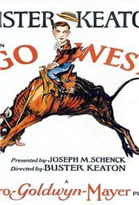 Go West (1925) Poster