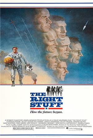 The Right Stuff (1983) 1080p Poster