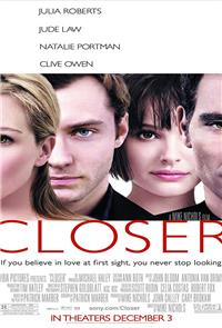 Closer (2004) 1080p Poster