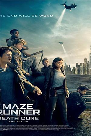 Maze Runner: The Death Cure (2018) 1080p Poster