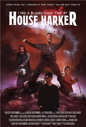 I Had A Bloody Good Time At House Harker (2016) 1080p Poster