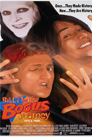 Bill & Ted's Bogus Journey (1991) 1080p Poster