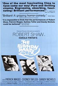 The Birthday Party (1968) Poster