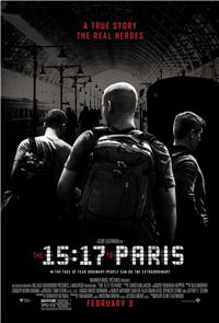 The 15:17 to Paris (2018) 1080p Poster