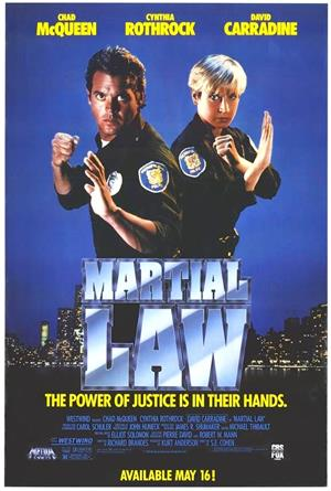 Martial Law (1991) 1080p Poster