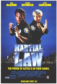 Martial Law (1991) Poster