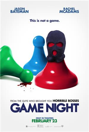Game Night (2018) 1080p Poster