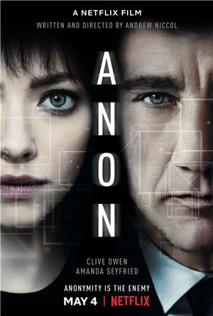 Anon (2018) Poster