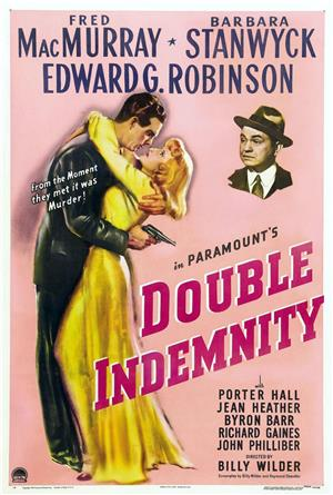 Double Indemnity (1944) 1080p Poster