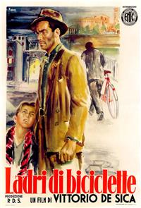 Bicycle Thieves (1948) 1080p Poster