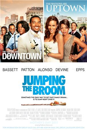 Jumping the Broom (2011) 1080p Poster