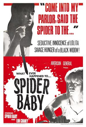 Spider Baby (1967) 1080p Poster
