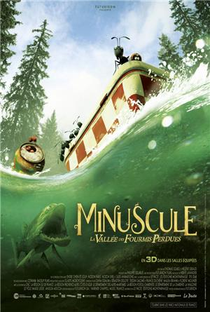 Minuscule: Valley of the Lost Ants (2013) 3D Poster