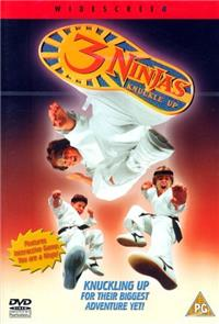 3 Ninjas Knuckle Up (1995) Poster