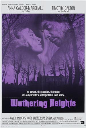 Wuthering Heights (1970) Poster