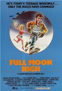 Full Moon High (1981) Poster