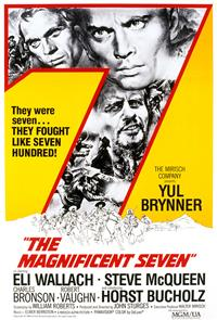 The Magnificent Seven (1960) 1080p Poster