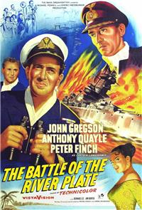 The Battle of the River Plate (1956) 1080p Poster