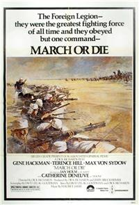 March or Die (1977) Poster