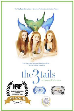 The3Tails: A Mermaid Adventure (2015) Poster