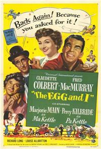 The Egg and I (1947) Poster