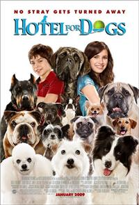 Hotel for Dogs (2009) 1080p Poster