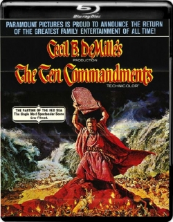 The Ten Commandments (1956) 1080p Poster