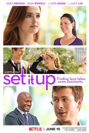 Set It Up (2018) Poster