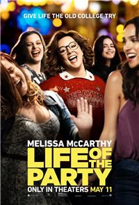Life of the Party (2018) 1080p Poster