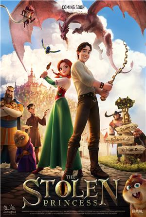 The Stolen Princess (2018) 1080p Poster