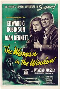 The Woman in the Window (1944) Poster