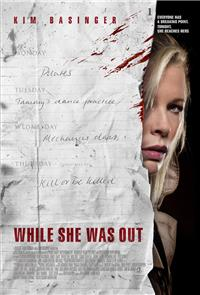 While She Was Out (2008) 1080p Poster