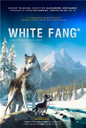 White Fang (2018) Poster