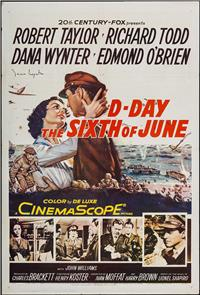 D-Day The Sixth of June (1956) Poster