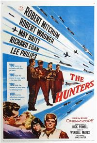 The Hunters (1958) 1080p Poster
