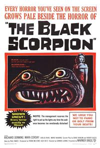The Black Scorpion (1957) 1080p Poster