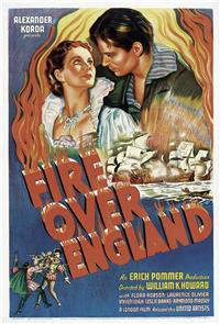 Fire Over England (1937) Poster