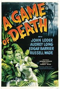 A Game of Death (1945) Poster