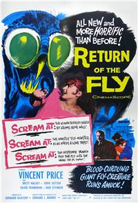 Return of the Fly (1959) 1080p Poster