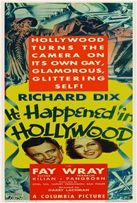 It Happened in Hollywood (1937) Poster